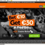 888sport Welcome Bonus No Deposit