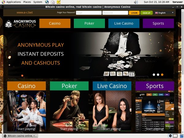 Anonymous Casino Loyalty Program