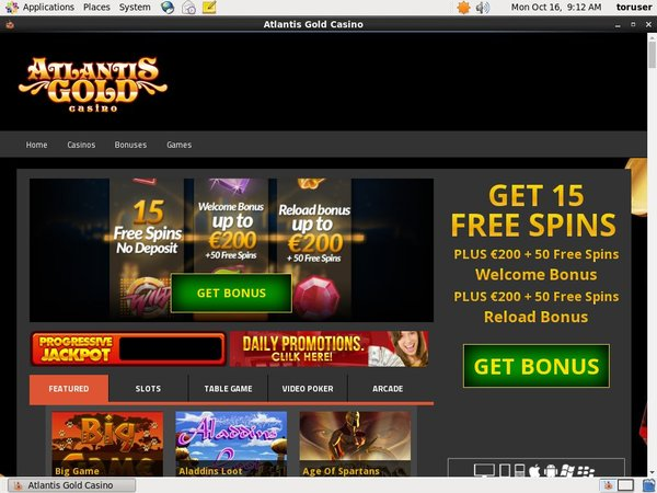 Atlantisgold Maximum Deposit