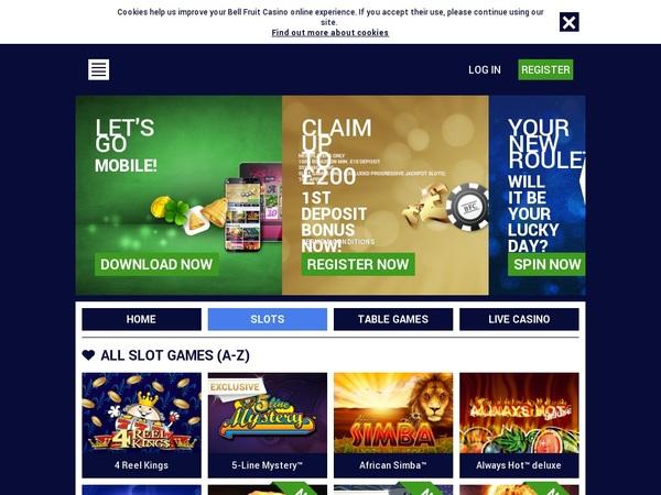 Bell Fruit Casino Virtual Sports