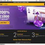 Betfair Poker Inscrivez-vous