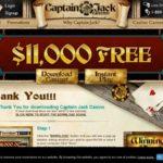 Captain Jack Casino Special Bonus