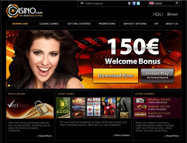 Casino.com Table Games