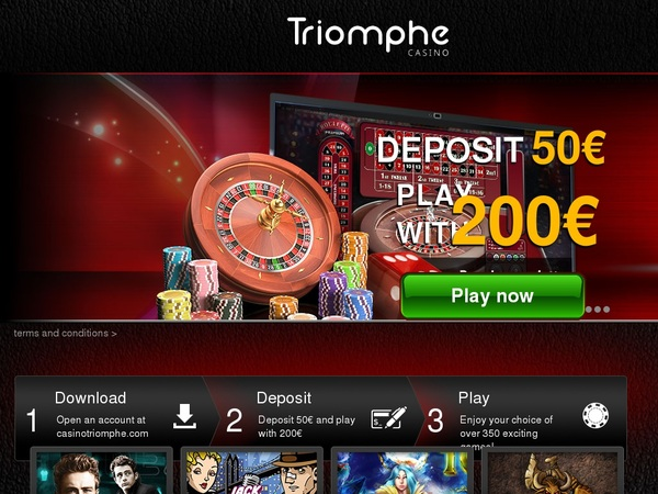 Casinotriomphe Online Casino Bonus