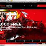 Fonecasino Mobile Free Spins