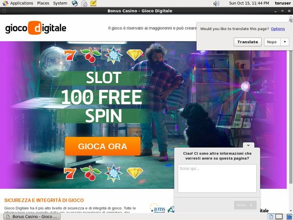 Giocodigitale Internet Casino
