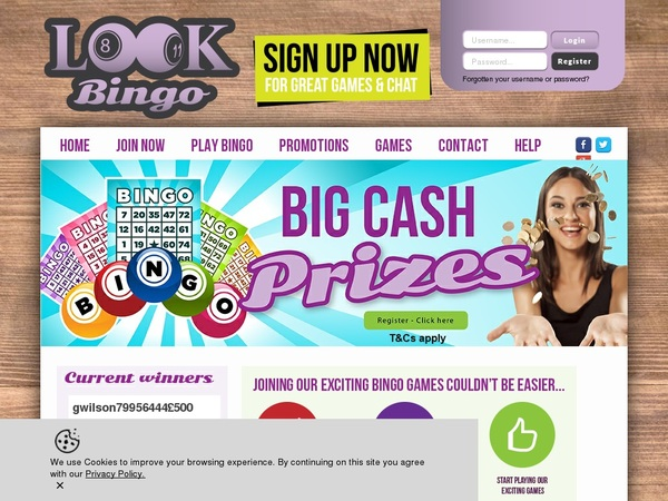 Lookbingo Gambling Offers