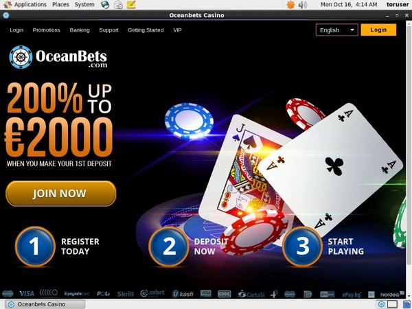 Ocean Bets Website