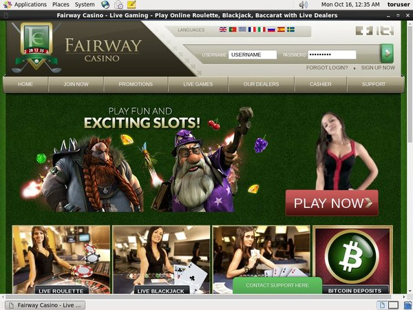 Paypal A Fairway Casino