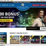 Platinum Reels Depozit Bonusu