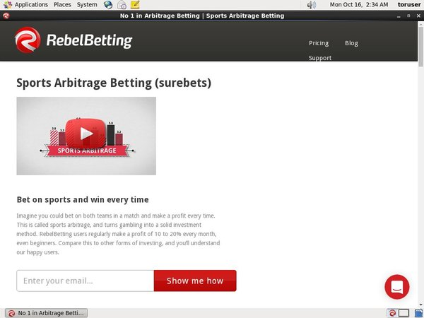 Rebel Betting Access