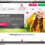Tip Top Bingo Credit Card