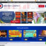 Voucher All British Casino