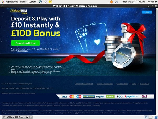 Williamhill Bet Online