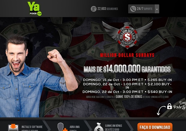 Ya Poker Join Bonuses
