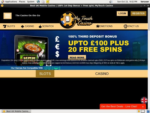 Coupon Mytouchcasino