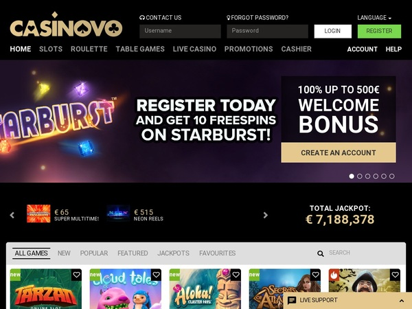 Casinovo Join