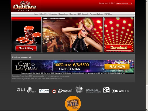 Clubdicecasino Uk Mobile
