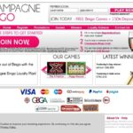 New Champagne Bingo Promotions
