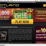 Slot Land Mobile New Account