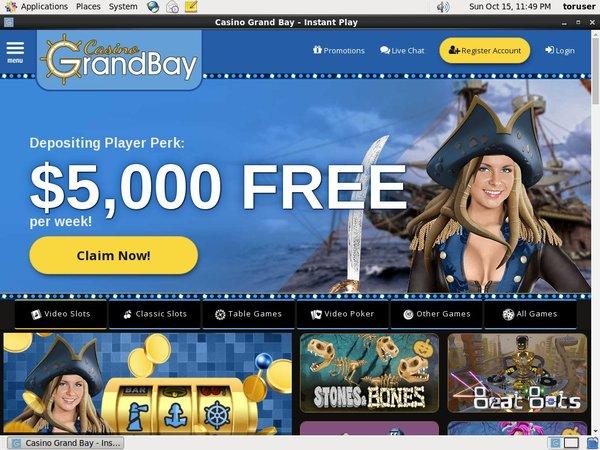 Casino Grand Bay Codes