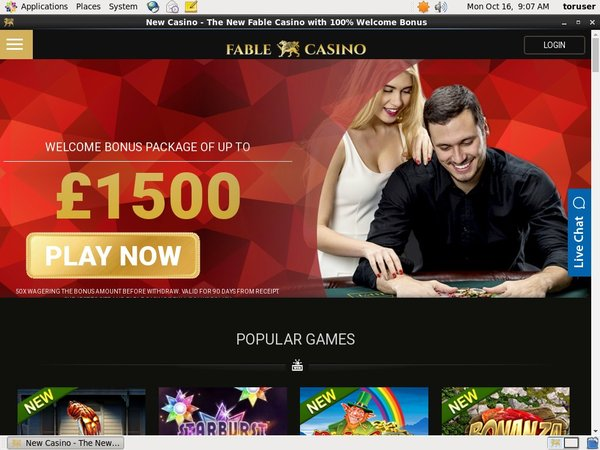 Fable Casino Pay