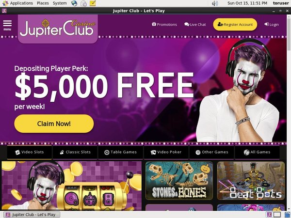 Jupiter Club Play Slots