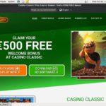 Casino Classic Tervetuliaisbonus