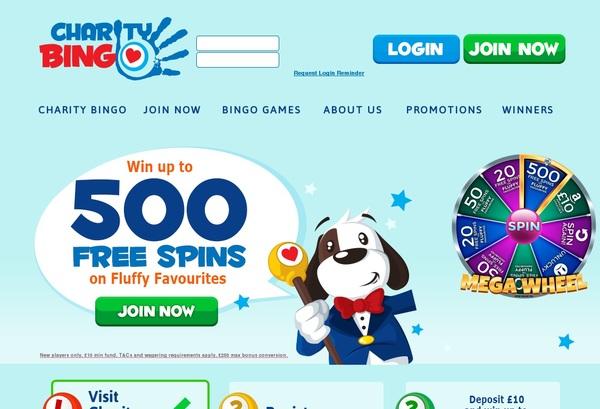 Charity Bingo Vip Customers
