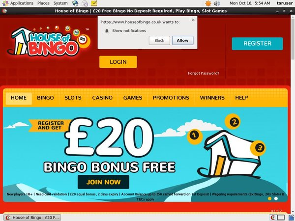 Deposit Bonus House Of Bingo