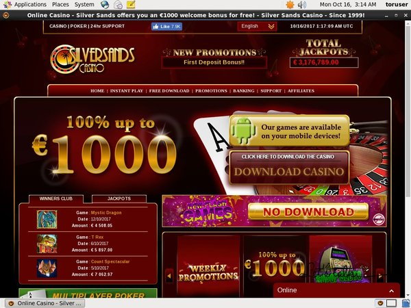 Silver Sands Casino Deposit Codes