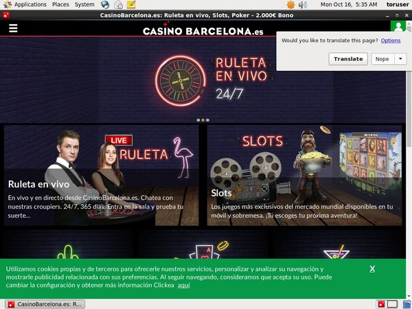 Casinobarcelona Registration Form