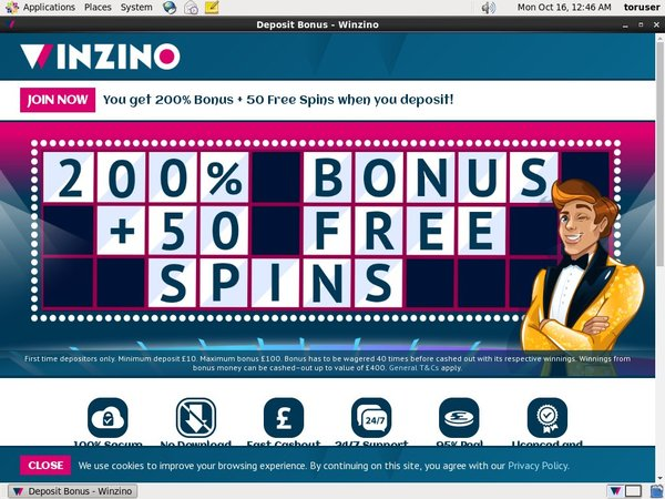 Winzino Pounds No Deposit