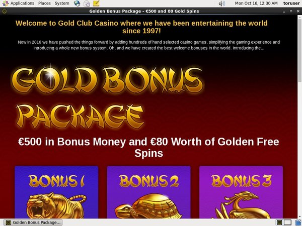 Gold Club Casino Registrer Dig