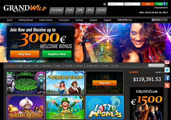 Grand Wild Casino Betsafe