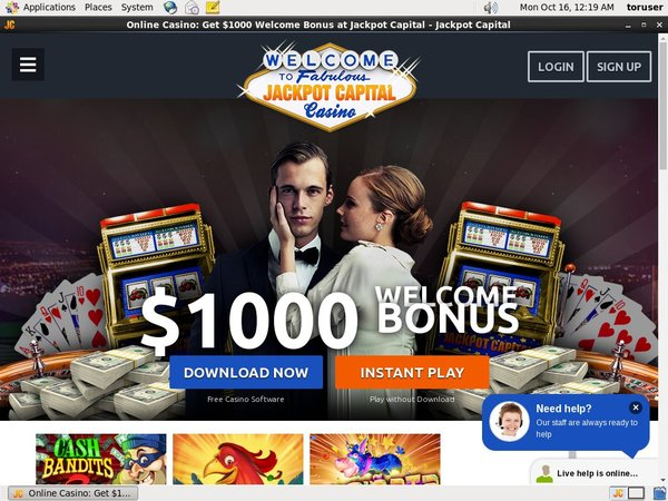 Jackpot Capital Joining Offer