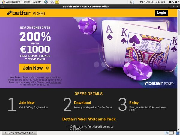 Betfair Full Site