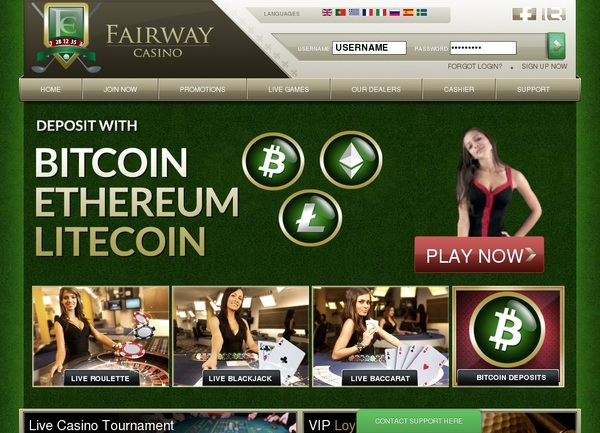 Fairway Casino Deposit Paypal