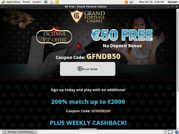 Grand Fortune Reward Code