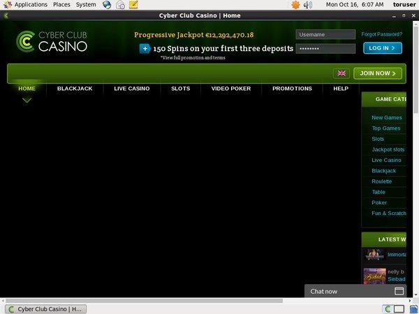 Cyberclubcasino Online Casinos