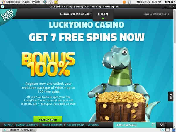 Luckydino Per Hand Limits