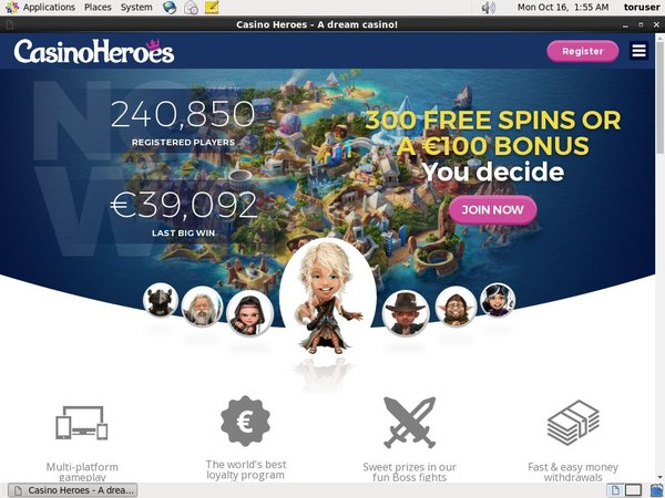 Review Casinoheroes