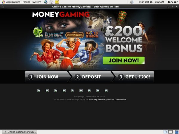 Moneygaming Coupons
