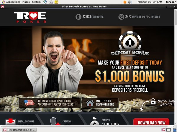 Truepoker Vip Sign Up
