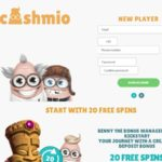 Cashmio New Player Bonus