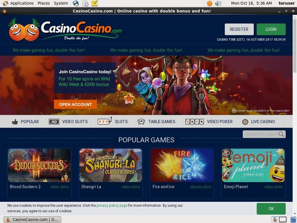 No Deposit Bonus Casinocasino