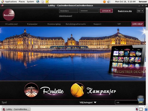 Casinobordeaux Mobile
