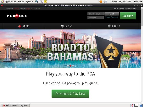 Pokerstars Betting