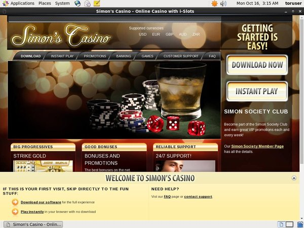 Simon Says Casino Games And Casino