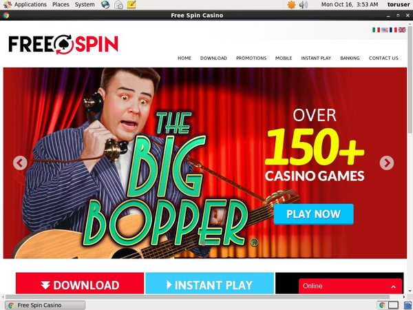 Free Spin Online Roulette